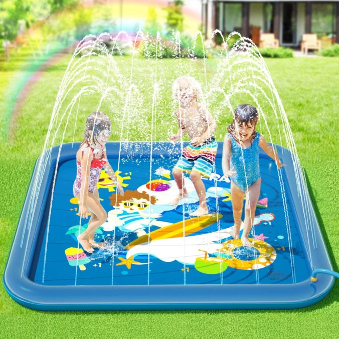 Wassersprinkler matte
