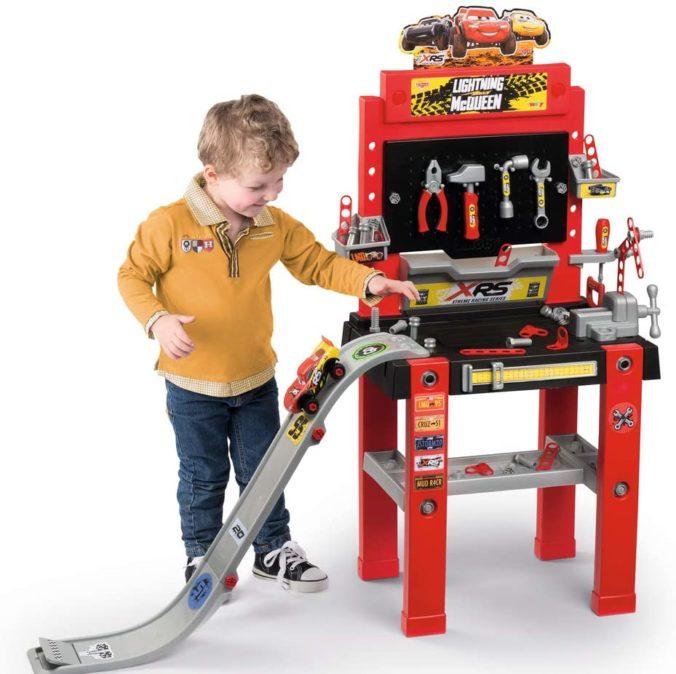 Cars Werkzeug Bank