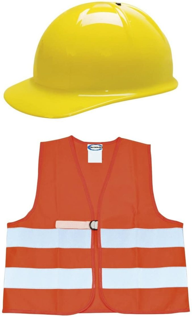 Bauarbeiterkleidung für Kinder