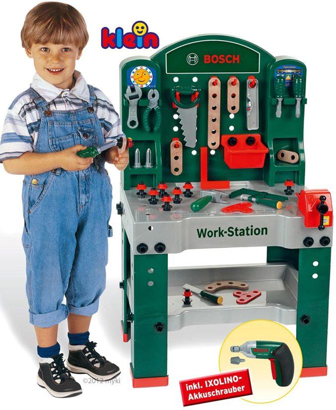 Werkzeugbank für Kinder - Bosch