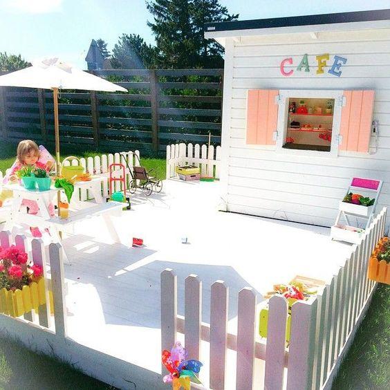Gartencafe für Kinder