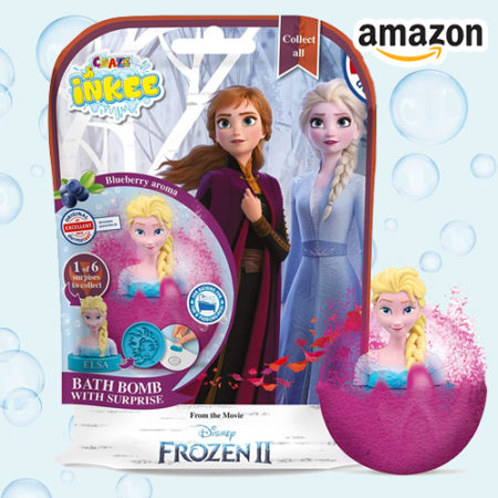 Badekugeln mit Frozen Figur