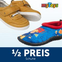 Kinderschuhe zum halben Preis bei myToys