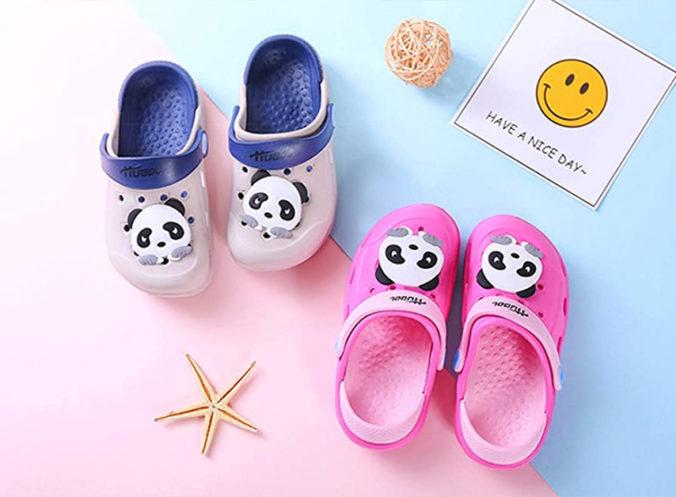 Clogs mit Panda-Motiv für Kinder