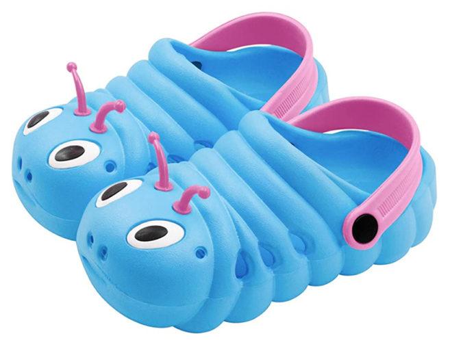 Raupen-Clogs für Kinder