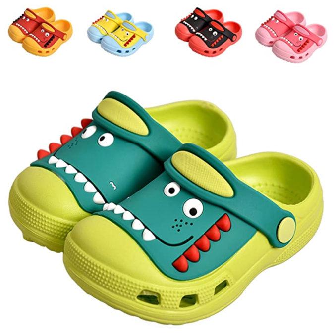 Dino-Clogs für Kinder