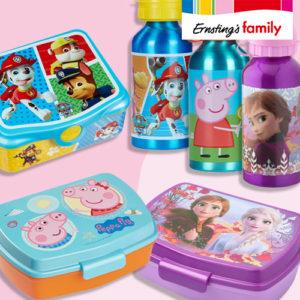 Ernsting's Family: Brotdosen und Flaschen von deinen Lieblingshelden – ab 2,99€