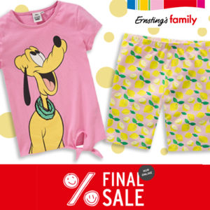 Ernsting's Family Final Sale: Bis zu 70% Rabatt