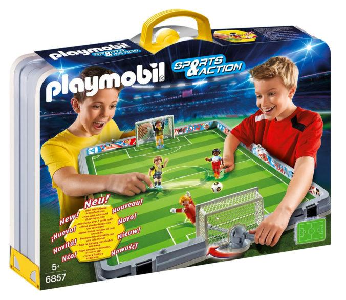 Zusammenklappbare Playmobil Fußball-Arena