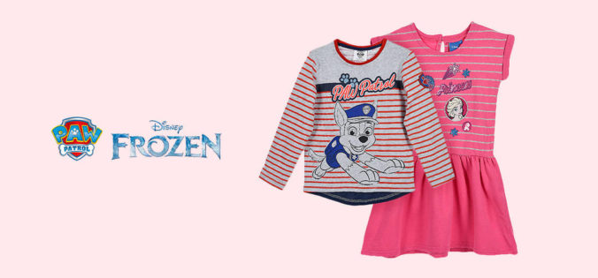 Paw Patrol Pullover und Frozen Kleid