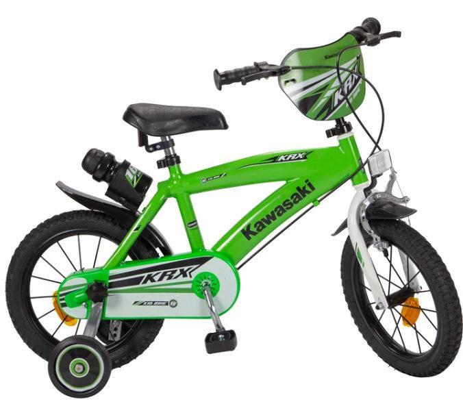 grünes Kawasaki Fahrrad für Kinder