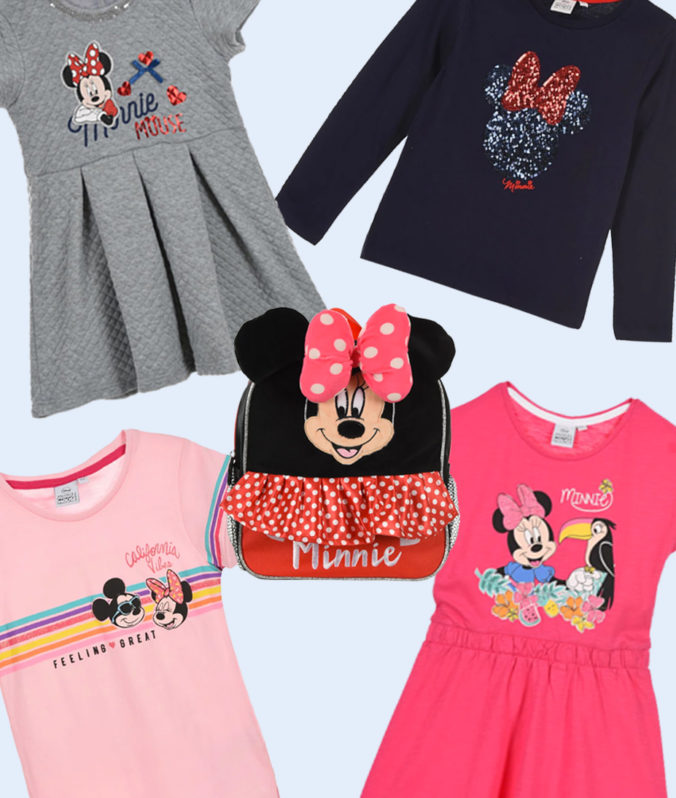 Minnie Mouse Mode für Kinder