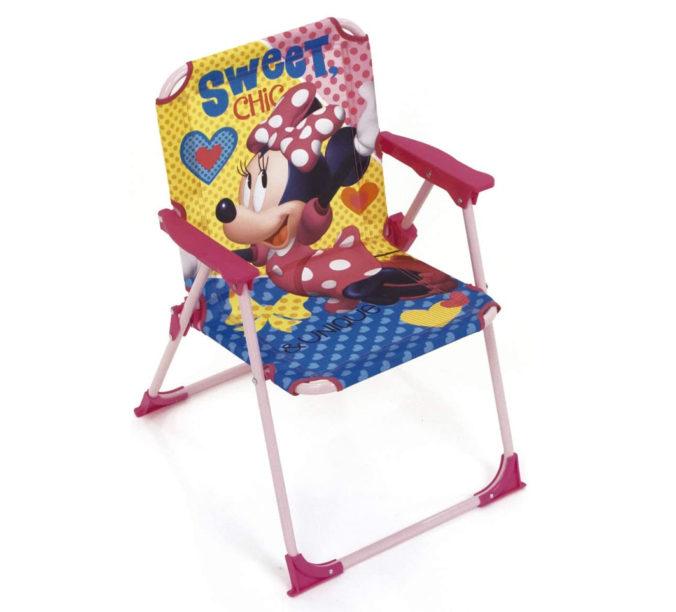 Campingstuhl im Minnie Mouse Design für Kinder