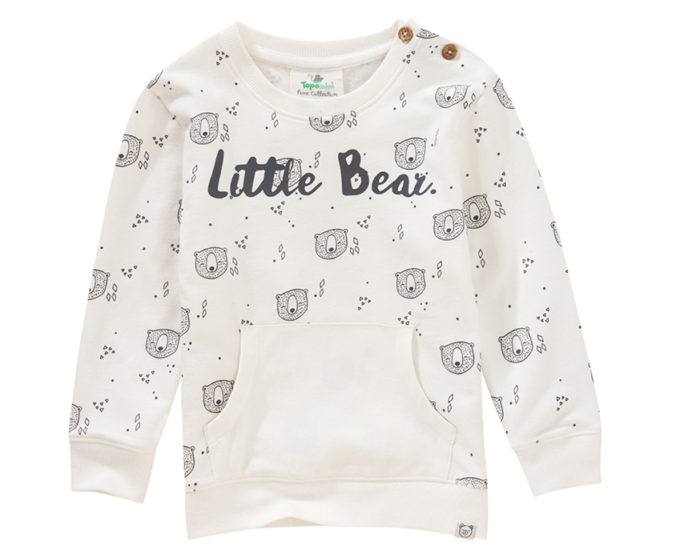 Pullover im Teddydesign für Babys