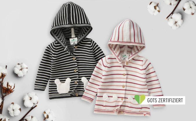 Strickjacken für Babys