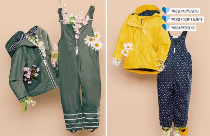 Regenbekleidung für Kinder