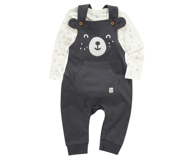 Strampler im Teddy-Design für Babys