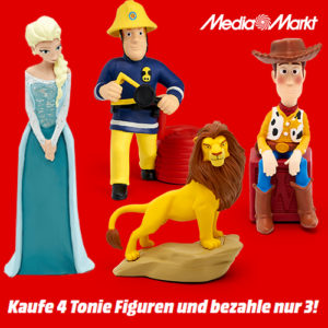 MediaMarkt: Tonie Aktion – Kaufe 4, zahle nur 3!