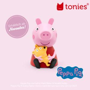Tonies: Peppa Tonie ab November erhältlich!