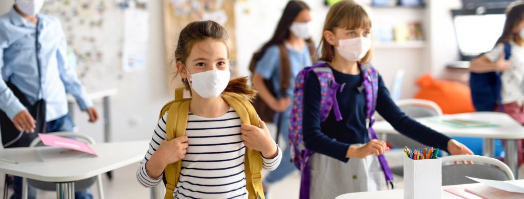 """Banner: Vorsichtige Entwarnung: Kinder wirken eher als """"Corona-Bremse"""""""