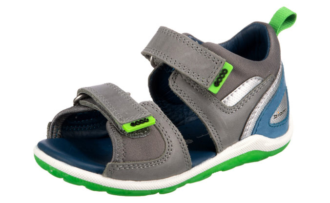 graue ecco Sandalen für Jungen