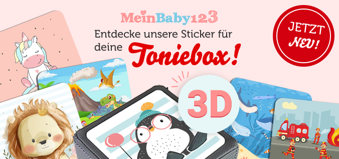 Toniebox Schutzfolie MeinBaby123