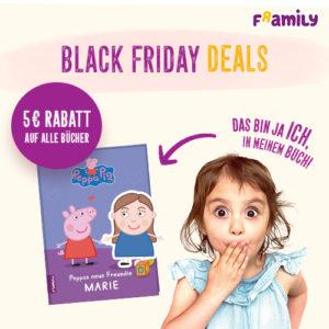 Framily: personalisierte Kinderbücher mit 5€ Rabatt