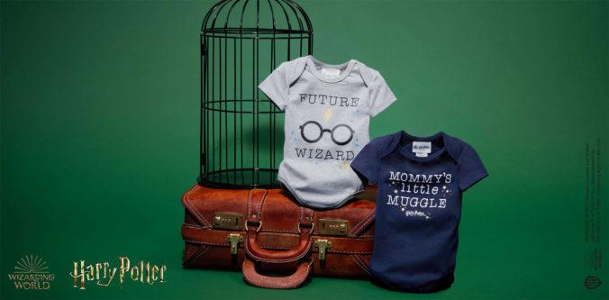 Babybodys mit Harry Potter Print
