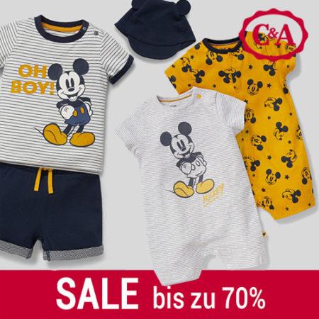 Disneymode im C&A Sale
