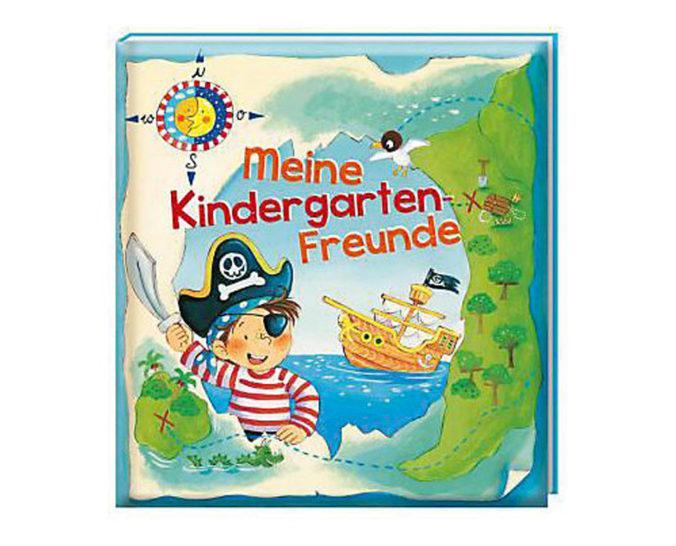 Piraten Freundschaftsbuch