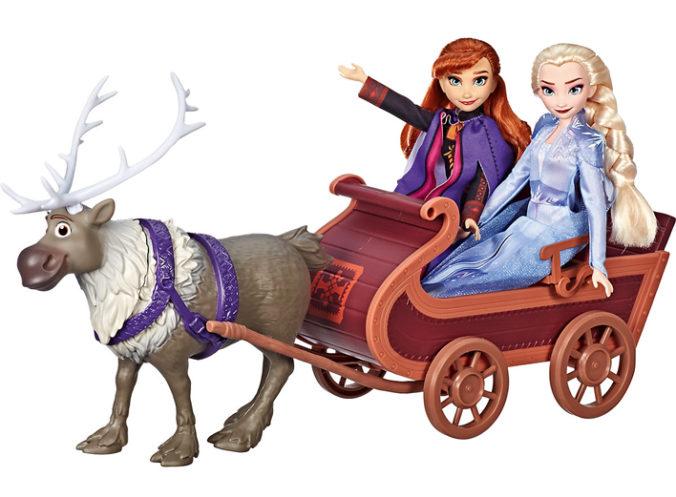 Frozen Schlitten mit Sven, Anna und Elsa