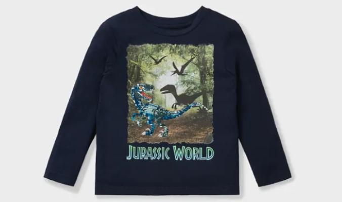 Jurassic World - Langarmshirt