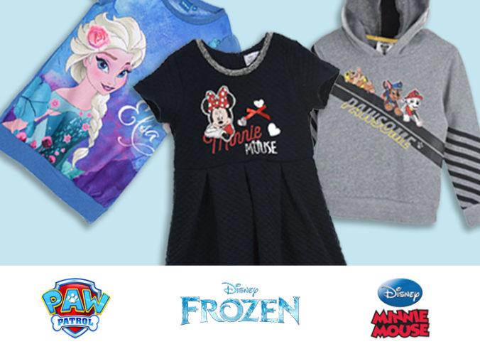 Frozen, Minnie Mouse und Paw Patrol Mode für Kinder