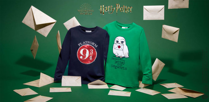 Lamgarmshirts mit Harry Potter Print