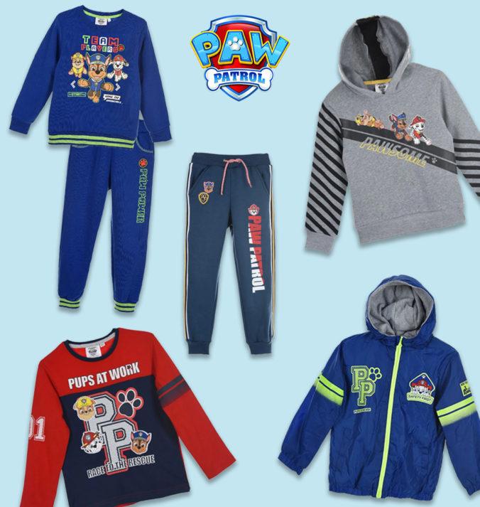 Paw Patrol Kleidung für Kinder
