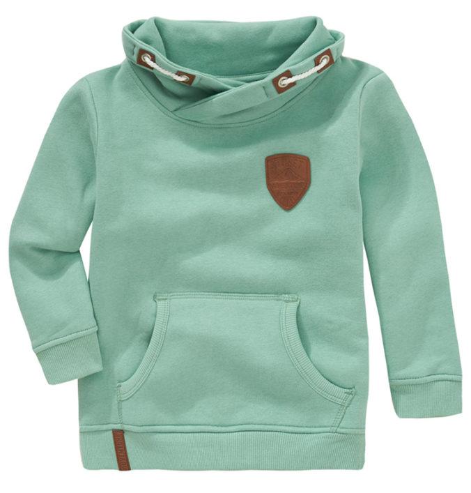 Hellgrüner Pullover für Jungen