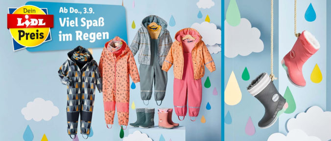 Regenmode für Kinder