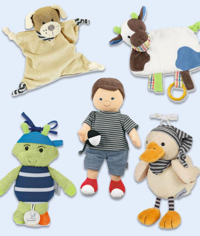 Sterntaler Schmusetücher, Puppen, Spieluhren und Stofftiere
