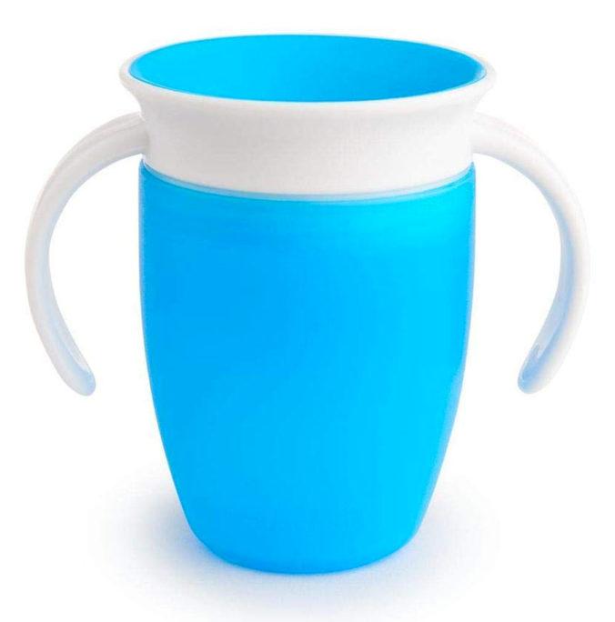 Blauer Trinklernbecher von Munchkin
