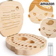 Zahnbox aus Holz