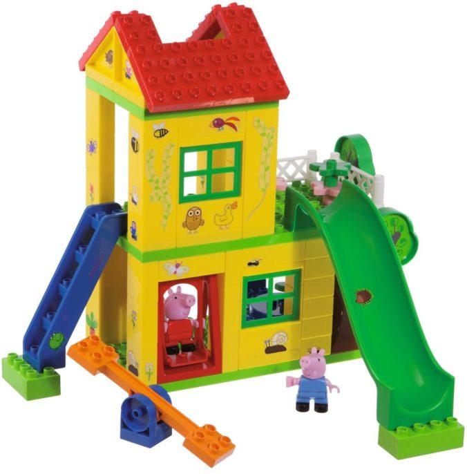 Peppa Pig Spielhaus mit Rutsche