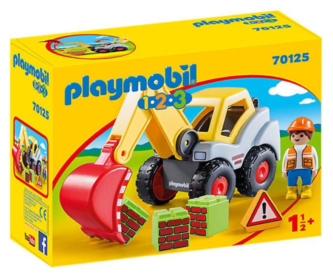 Schaufelbagger von Playmobil 123