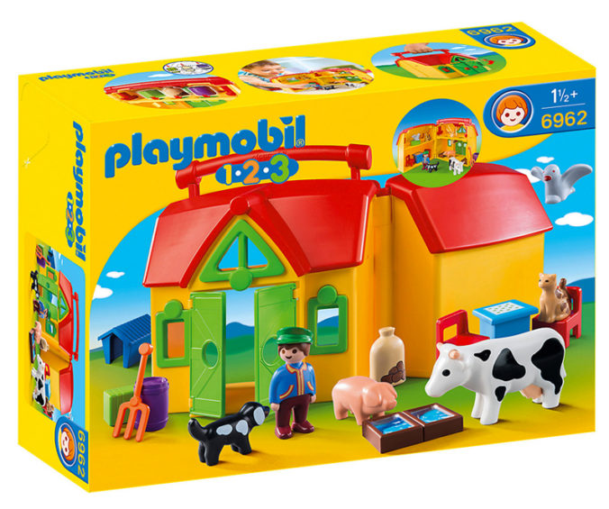 Mitnehm-Bauernhof von Playmobil 123