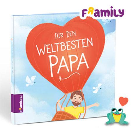 """Framily Buch """"Für den weltbesten Papa"""""""