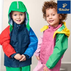 Ab 5,99€ Regenbekleidung für Kids bei Tchibo