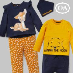 Bambi und Winnie Outfits für Kinder