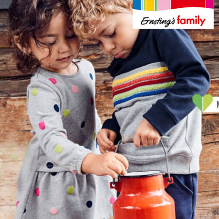 Ernsting's Family Kunterbunte Kindermode
