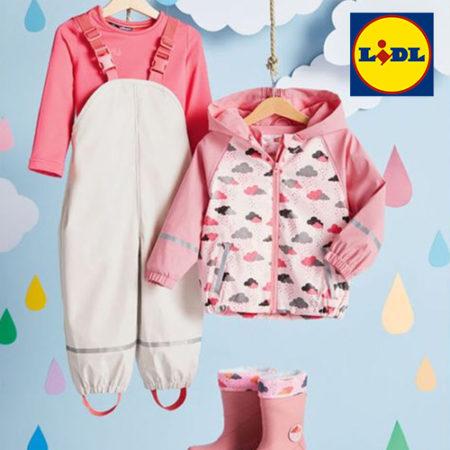 LIDL Regenkleidung für Kinder