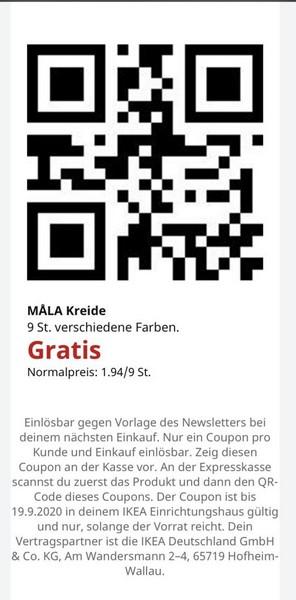 IKE AQR Code Malkreide