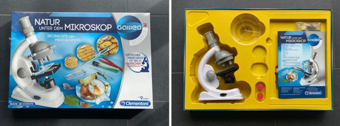 Clementoni Mikroskop für Kinder